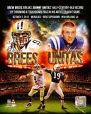 Drew Brees breaks Johnny Unitas' record October 7, 2014 Photo