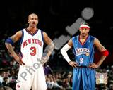 S.Marbury/A.Iverson - '04 Group Shot Photo