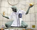 MLB Spirit of Detroit Photo