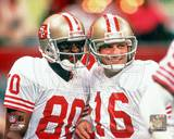 Jerry Rice and Joe Montana Photo