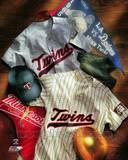 Minnesota Twins - Minnesota Twins Cooperstown Collage Photo