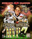 Drew Brees Super Bowl XLIV MVP Photo