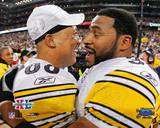 Super Bowl XL - Hines Ward And Jerome Bettis Photo