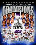 New York Giants Super Bowl XLVI Champions Composite Photo