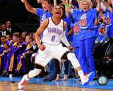 Russell Westbrook 2011-12 Playoff Action Photo