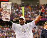 Ray Lewis Super Bowl XLVII Celebration Photo