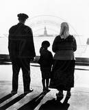 Immigrant Family On Ellis Island Photo