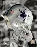 Dallas Cowboys Helmet Spotlight Photo