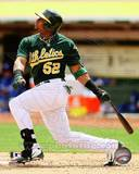 Yoenis Cespedes 2012 Action Photo