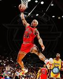 Dennis Rodman 1995-96 Action Photo