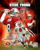 Steve Young - Class Of 2005 Hall of Fame Composite Photo