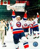 Mike Bossy - With Stanley Cup Fotografía