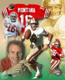 Joe Montana - Legends of the Game Composite Foto
