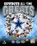 Dallas Cowboys All Time Greats Composite Photo
