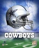 NFL Dallas Cowboys Helmet Logo Photofile Photo