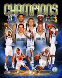 Dallas Mavericks 2011 NBA Finals Championship Composite Photo