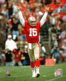Joe Montana - celebrating touchdown - ©Photofile Photo
