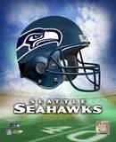 Seattle Seahawks Helmet Logo ©Photofile Photo