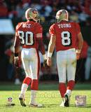 Steve Young and Jerry Rice Photo