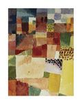 Motif from Hammamet, 1914 (No 48) Reproduction procédé giclée par Paul Klee