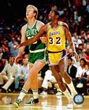 NBA Larry Bird And Magic Johnson Photo