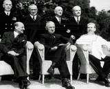 "The new ""Big Three"" at the Potsdam Conference, 1945 Photo"