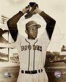 Satchel Paige - Ball In Glove Photo