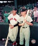 Ted Williams/Mickey Mantle ©Photofile Photographie