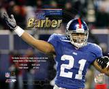 Tiki Barber Sets Giant's Single-Season and All-Time Rushing Record Photo