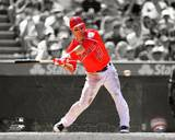 Mike Trout 2012 Spotlight Action Photo