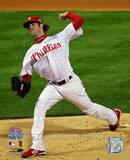 Cole Hamels Game 5 of the 2008 World Series Photo