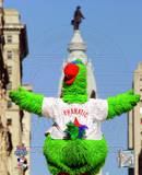 The Philly Phanatic 2008 World Series Parade Photo