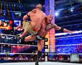 The Rock Wrestlemania 29 Action Photo