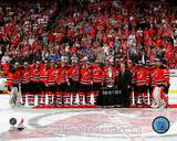 The New Jersey Devils after Winning the 2012 NHL Eastern Conference Finals Photo