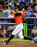 Giancarlo Stanton 2013 Action Photo