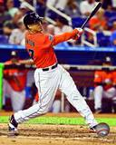 Giancarlo Stanton 2012 Action Photo