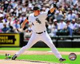 Jake Peavy 2011 Action Photo