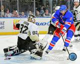 Rick Nash 1st Goal as a Ranger 2012-13 Action Photo
