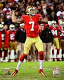 Colin Kaepernick 2012 NFC Divisional Playoff Action Photo