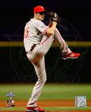 Cole Hamels Game one of the 2008 MLB World Series Photo