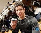 Sidney Crosby - 1st Goal / Locker Room Photo