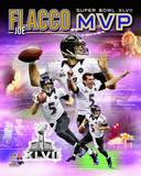 Joe Flacco Super Bowl XLVII MVP Portrait Plus Photo