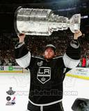Jonathan Quick with the Stanley Cup Trophy after Winning Game 6 of the 2012 Stanley Cup Finals Photo