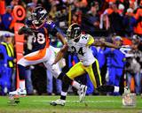 Demaryius Thomas Game Winning Touchdown 2011 AFC Wild Card Playoff Action Photo