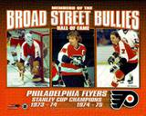 Broad Street Bullies- Bernie Parent, Bobby Clarke, & Bill Barber Photo