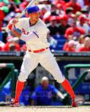 Hunter Pence 2012 Action Photo
