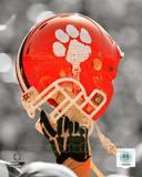 Clemson University Tigers Helmet Spotlight Photo