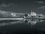 Mont Saint-Michel Giclee Print by Bob Krist