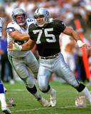 Howie Long 1992 Action Photo