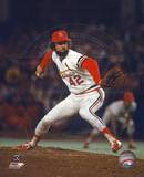 Bruce Sutter - Pitching Action (Cardinals) Photo